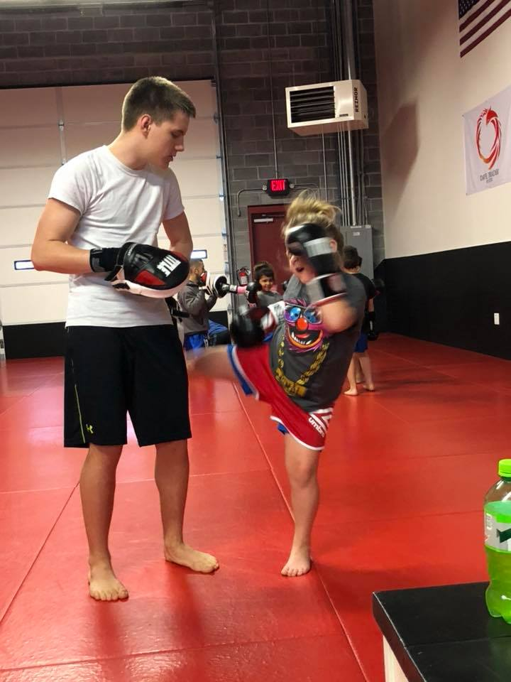 Kids Muay Thai Class at Dominion BJJ