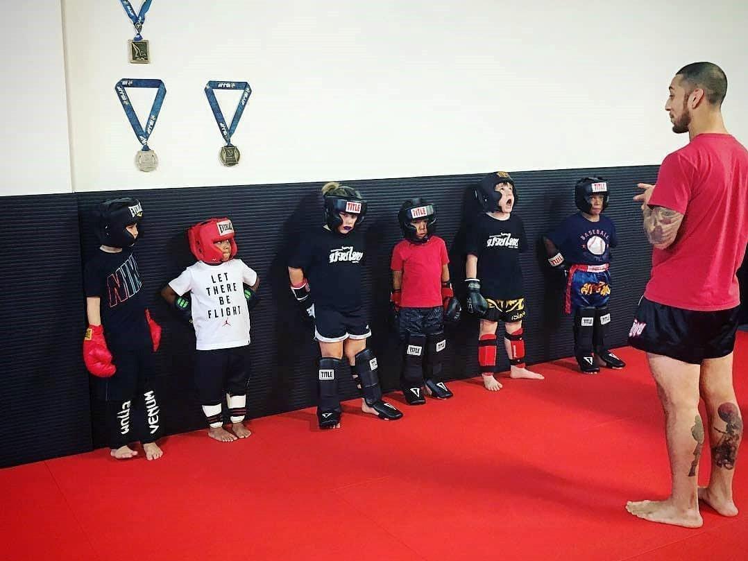 kids muay thai at dominion kids martial arts